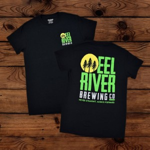 EEL RIVER BREWING BLACK T SHIRT