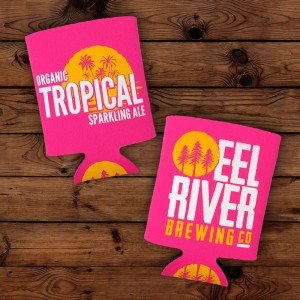 Organic Tropical Sparkling Ale Koozie